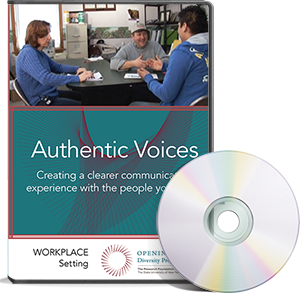 Authentic Voices DVD - Workplace Setting